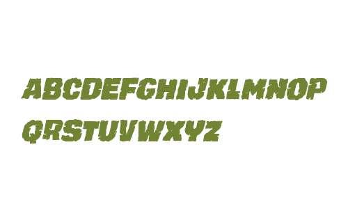 Jugger Rock Condensed Italic