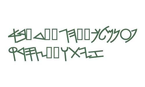 PhoenicianMoabite Bold