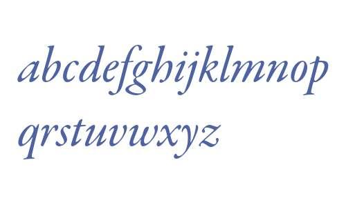 Garamond Premier Pro Medium Italic Subhead