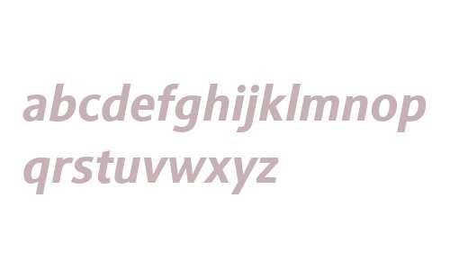 Sinova W01 Bold Italic