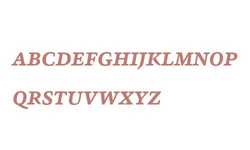 Sina Nova W01SC Bold Italic