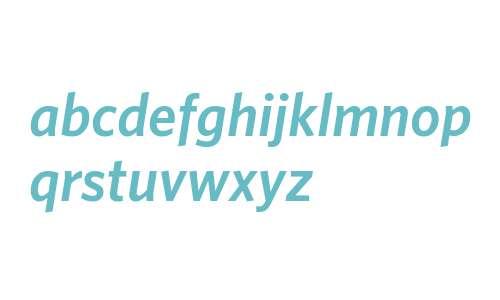 Whitney-SemiboldItalic Italic