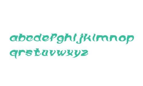 OVER THE MOUNTAIN-Italic Bold Italic