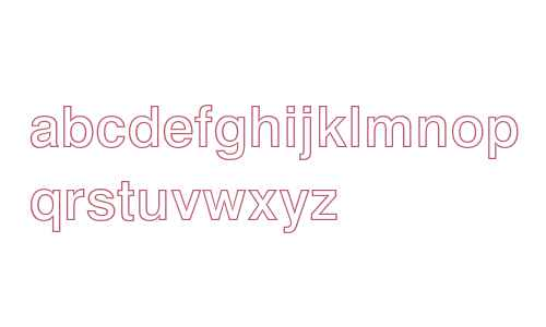 Swiss 721 Bold Outline