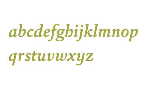 Sina W04 Bold Italic