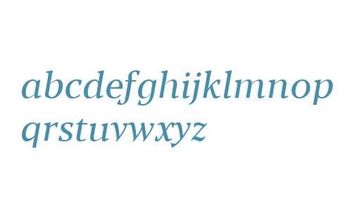 Blacker Text Italic