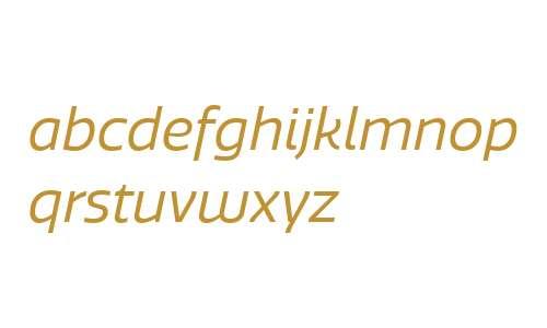 Quatro W00 Regular Italic
