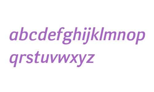Deca Sans Medium Italic W08 Rg
