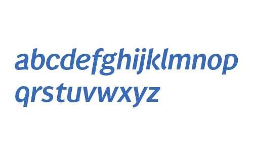 Wendelin Reduced Bold Italic