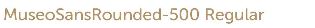 MuseoSansRounded-500