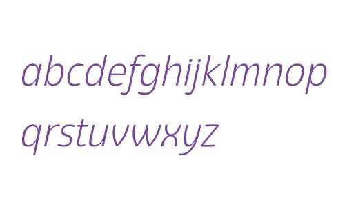 Eigerdals W00 Light Italic