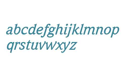 Quintessence Medium SSi Medium Italic