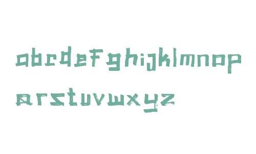 Troophs Brush Font