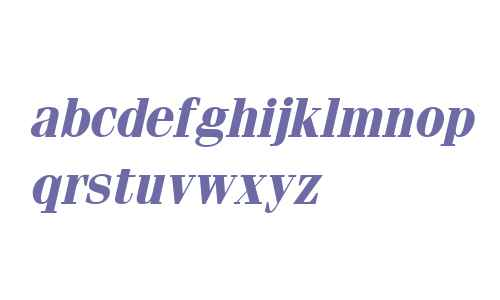 Fenice Bold Italic