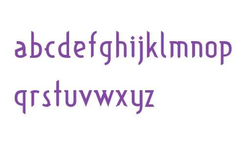 TypographictionRegular W00 Rg