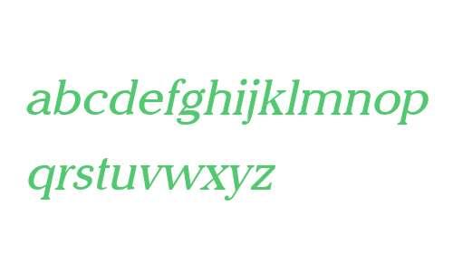Chelsey Italic