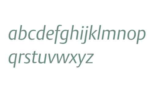 DTLArgoT-LightItalic