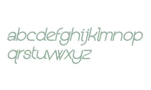 Kerater W00 Light Italic