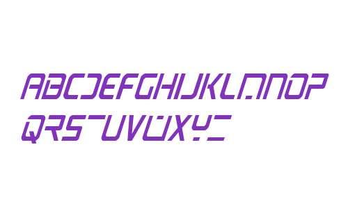 PsYonic VII Condensed Italic