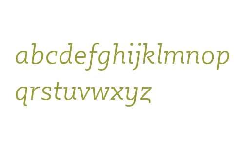 Sybilla W00 Light Italic