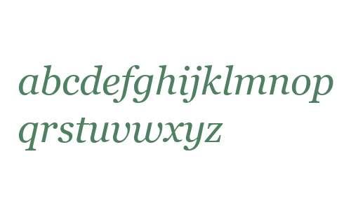 MS Reference Serif Italic