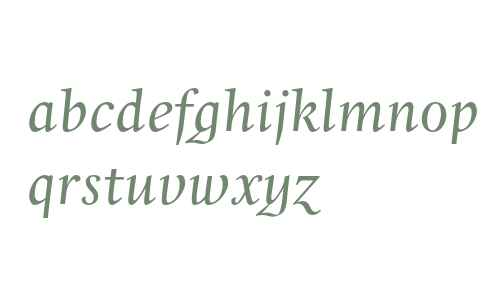 Whitenights LT Std Italic