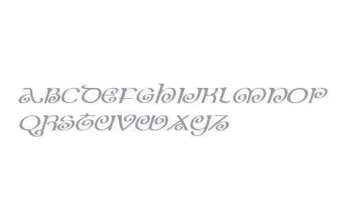 The Shire Expanded Italic