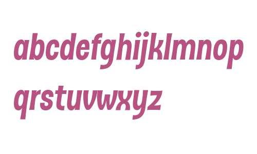 D Sert Alt W01 Black Italic