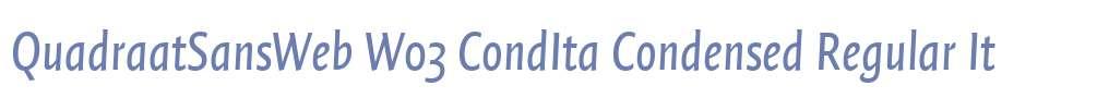 QuadraatSansWeb W03 CondIta