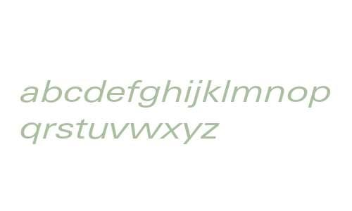 LinotypeUnivers-ExtdRegularItalic