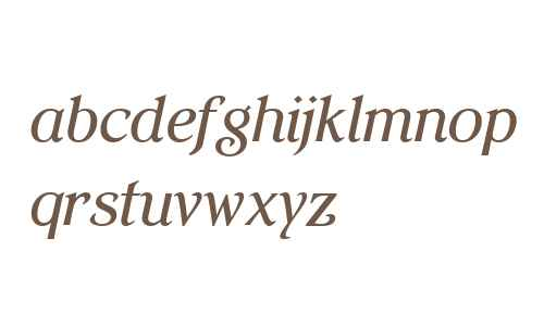 Elegante W01 Medium Italic