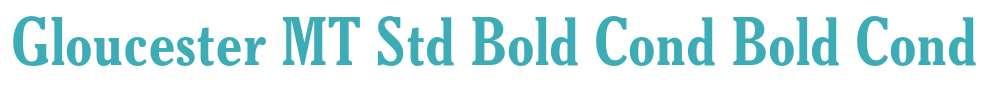 Gloucester MT Std Bold Cond