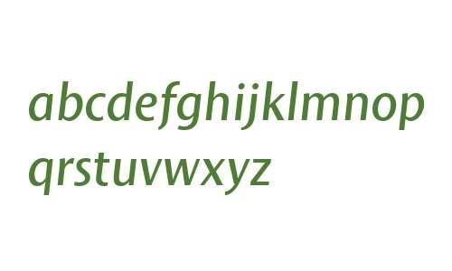 Mosquito Formal W04 Italic