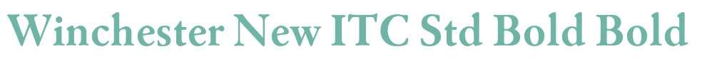 Winchester New ITC Std Bold