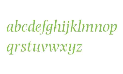 Photina MT W04 Italic