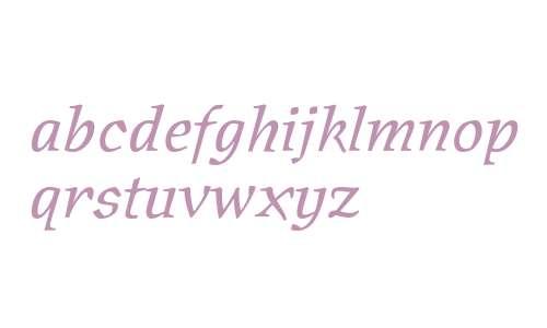Oldrichium ITC Std Italic