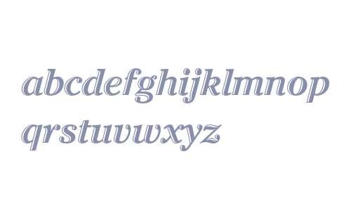 ITC Cheltenham Handtooled Bold Italic