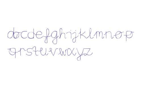 Aaron's Handwriting