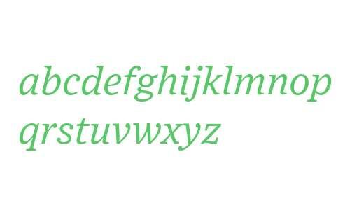 Exchange Book Italic