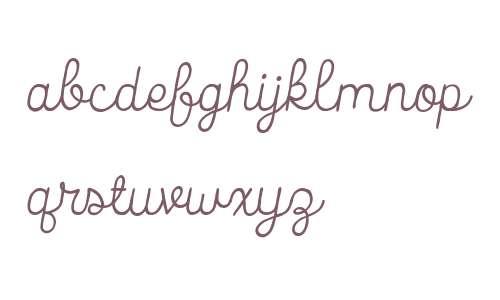 Catalina Script W00 Italic