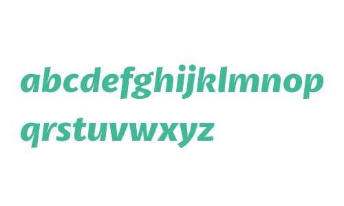 Petala W03 Bold Italic