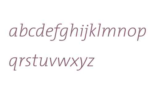 TheMixExtraLight-Italic