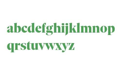 Sole Serif Display Black Regular