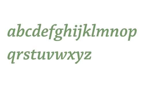 Chaparral Pro Semibold Italic