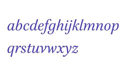 Brill Italic