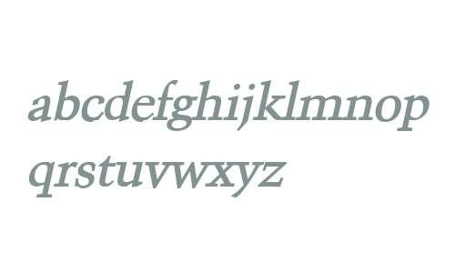Congo Bold Italic