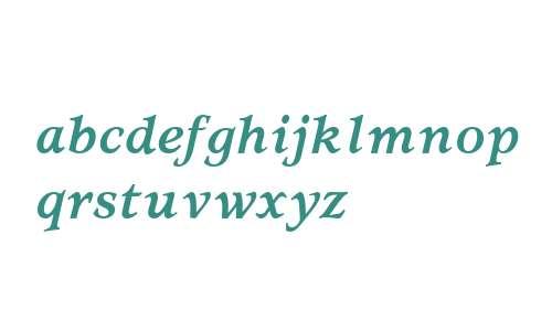 Usherwood Bold Italic