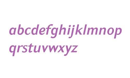 GHEA Koryun W01 DemiBold Italic