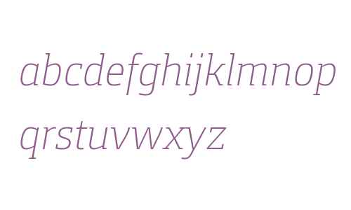 Foral Pro Light Italic