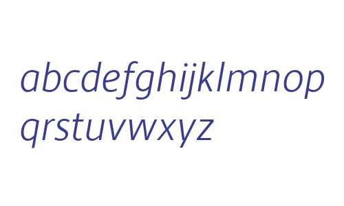 Hedley New W00 Light Italic